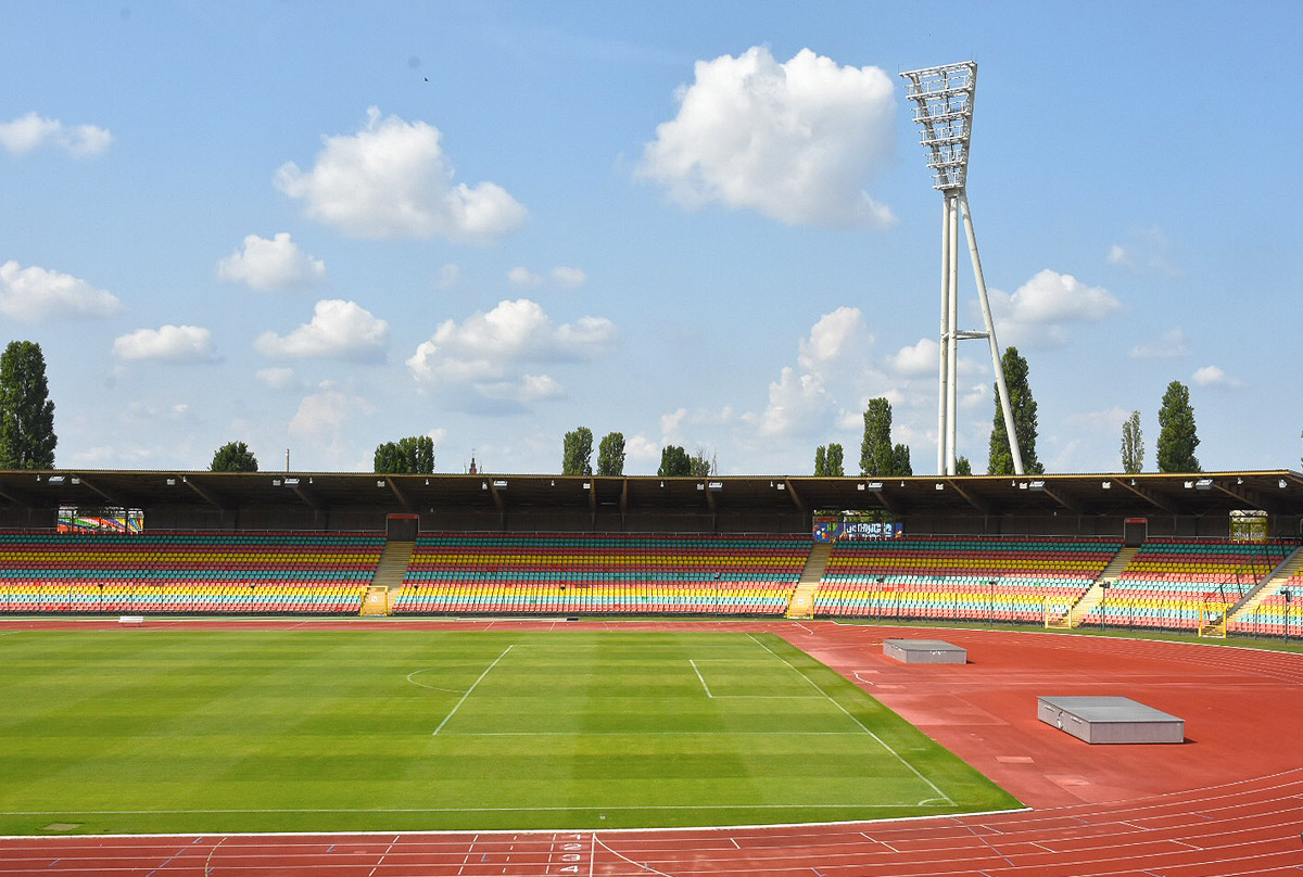 Wir begrüßen den FC Viktoria 1889 im Cantian-Stadion!